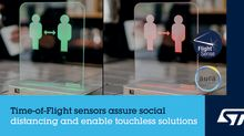 STMicroelectronics Enables Innovative Social-Distancing Applications with FlightSense™ Time-of-Flight Proximity Sensors