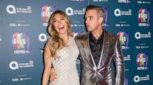 Ayda Field celebrates husband Robbie Williams with risqué snap of singer