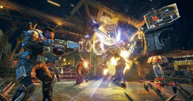 'Gears 4' updated with new maps, support for multiple GPUs