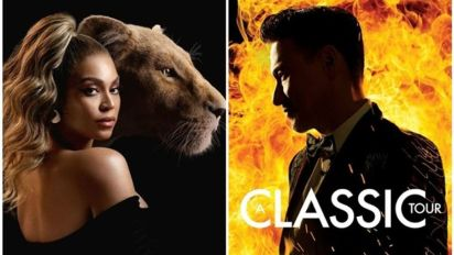 """Jacky Cheung performs """"The Lion King"""" theme with Beyonce"""
