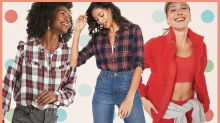 Surprise! Everything—and we mean everything—is 50 percent off at Old Navy!
