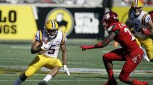 LSU RB Derrius Guice bowls awesome trick shot (Video)