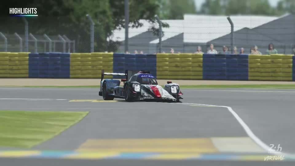 Rebellion Williams win first virtual Le Mans 24 Hours thumbnail