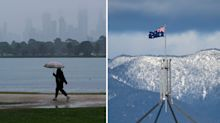 Australian weather: Melbourne records wettest August day in 20 years