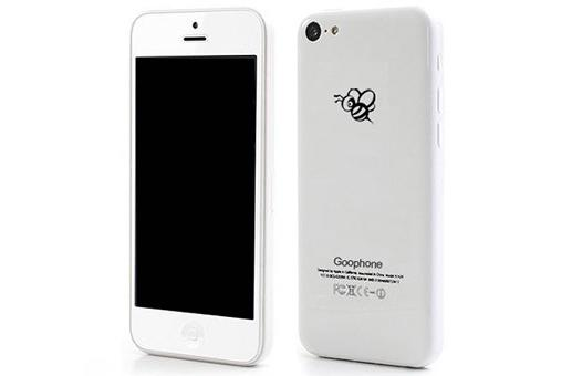 Goophone to launch $100 iPhone 5C clone, still KIRFing it