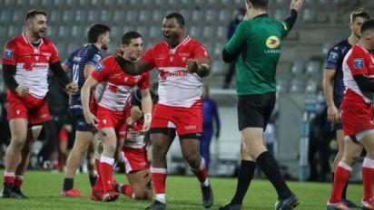 Rugby - Pro D2 - Biarritz s'impose nettement face à Montauban en match décalé de la 17e journée de Pro D2