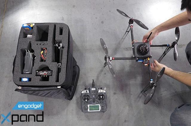 60 seconds with a modular drone that packs a pro camera