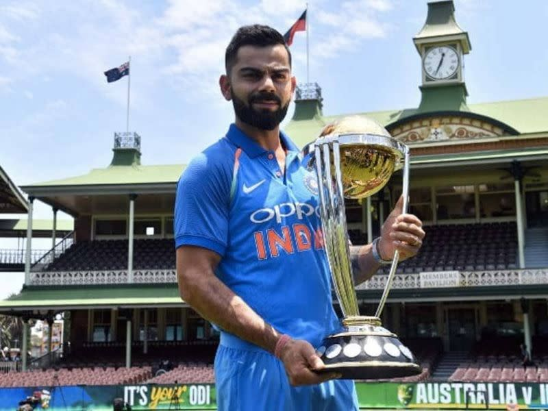 Virat Kohli would be vital to India's chances at the World Cup.