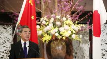 Japan protests China's island incursions during FM visit