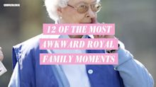 12 of the most awkward royal family moments