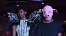 Pig masks and voodoo ceremonies: New York Fashion Week tackles #MeToo in signature style