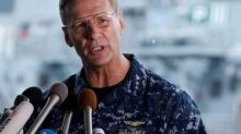 U.S. Navy to relieve admiral of command after collisions: WSJ