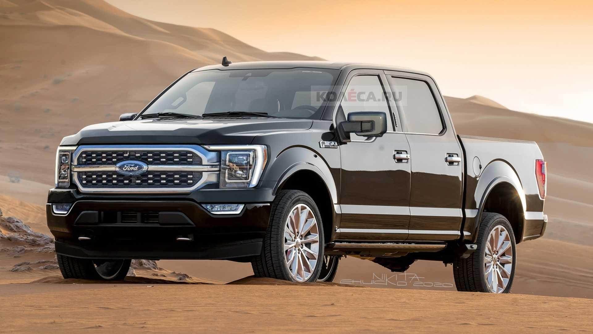 new 2021 ford f