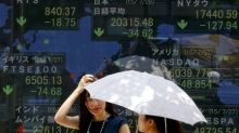 Asian Stock Markets Mixed; China's Industrial Output Tops Forecast
