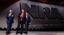 Trump pledges fealty to NRA gun lobby