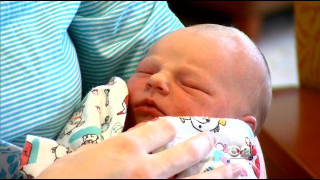 Mother Gives Birth To Baby Girl Along I-88