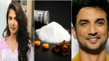Rhea's secret of taking drugs is hidden in Sushant's old video