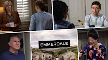 Next week on 'Emmerdale': Vinny's torment at Paul's funeral, plus Kim suffers a shock collapse (spoilers)