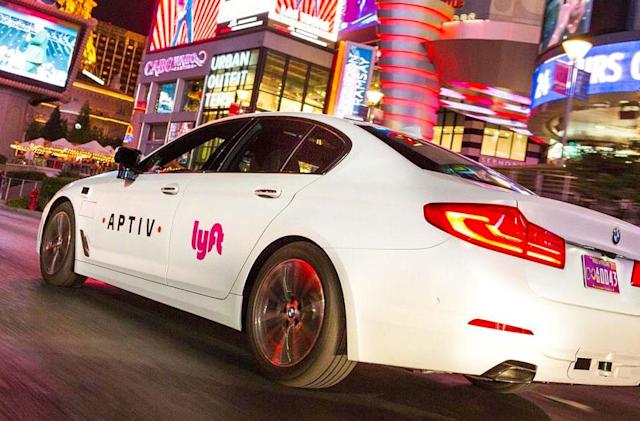 Lyft will offer autonomous rides in Las Vegas during CES