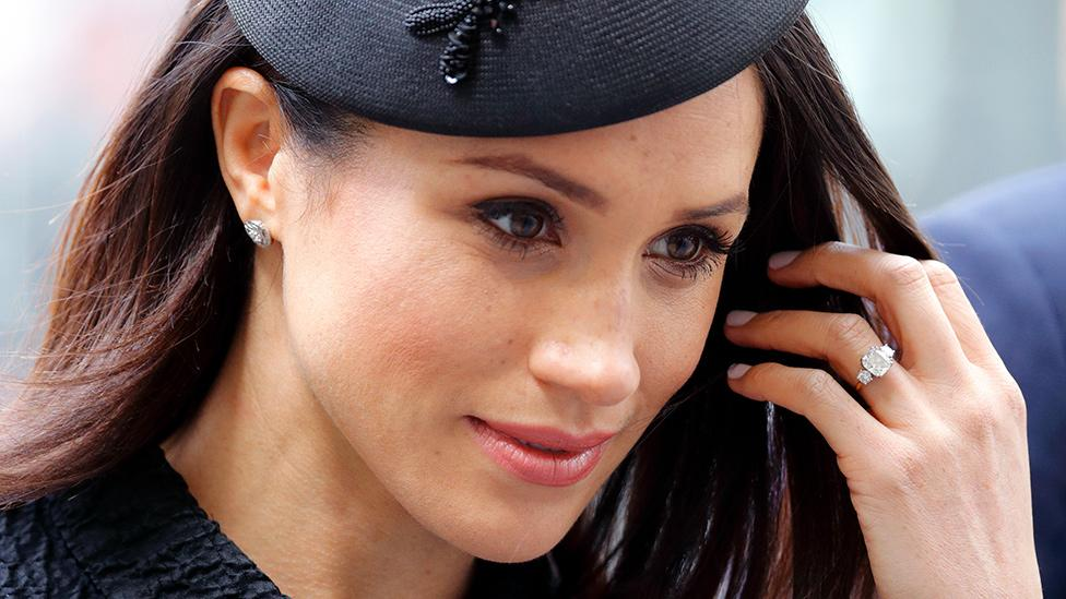 The palace wipes Meghan Markle's details from official website