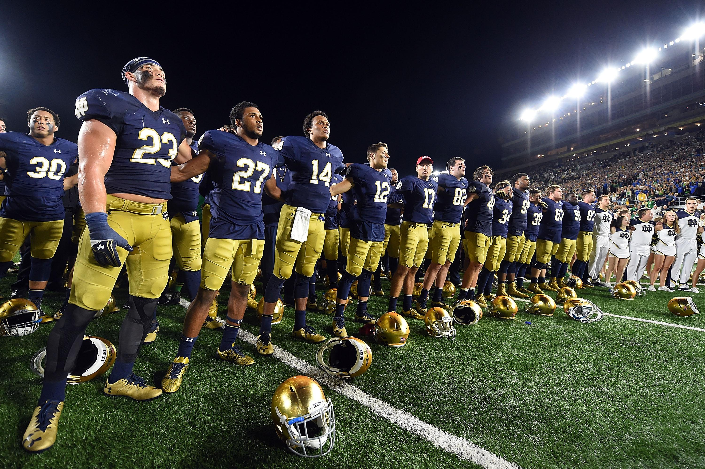 notre dame football 1