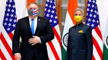 Pompeo lashes out at China at start of defence talks in India: 'A threat to security and freedom'