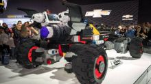 Yes, a Life-Size LEGO Batmobile Does Exist
