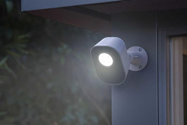 Arlo's smart security light helps ward off nighttime intruders