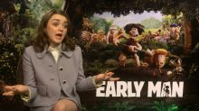 Maisie Williams says it's been a DREAM being a part of Early Man