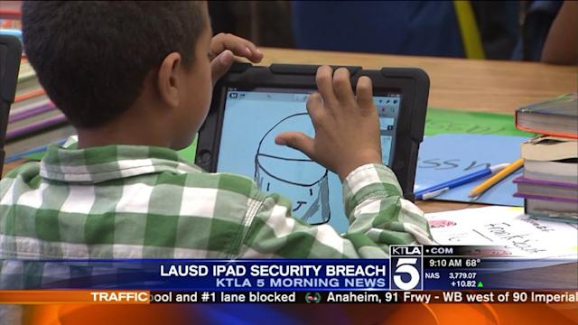 iPads Hacked by L.A. Unified Students
