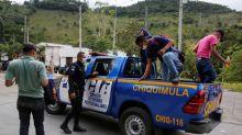 After caravan blocked, Honduran migrants turn anger on president