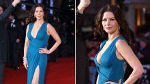 Catherine Zeta-Jones deslumbra en la premiere de'Dad's Army' en Londres