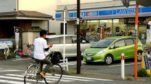 單手騎單車當吃生菜|日本市民騎單車的技術到底有多高…