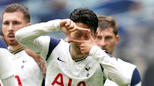 Son Heung-min celebrates five years at Spurs with a goal in friendly win