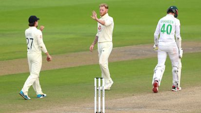 Ben Stokes gives England hope in first Test against Pakistan