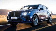 La Bentley Bentayga Speed conserve son énorme moteur W12