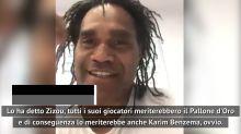 """Karembeu: """"Benzema? Meriterebbe anche lui il Pallone d'Oro"""""""