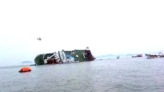SOUTH KOREAN FERRY SINKS