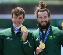 Olympics-Boxing-'Small but mighty': Irish flagbearer celebrates rowing gold