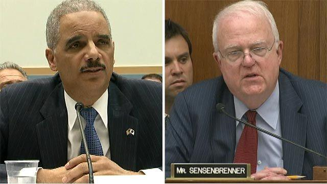 Congressman to Holder: Brush up on 'The buck stops here'