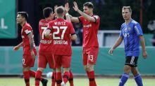 Bayer Leverkusen goleia e se classifica na Copa da Alemanha