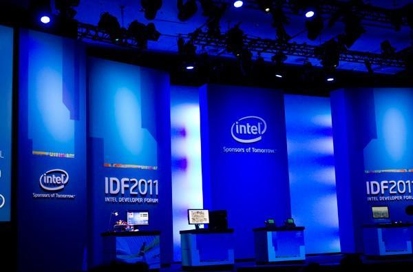 We're live at Intel Developer Forum 2011!