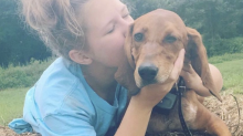 Girl fatally struck by car will be buried with beloved dog she tried to save
