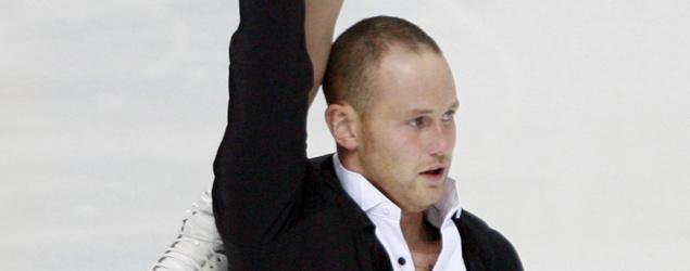 Two-time U.S. champion figure skater John Coughlin found dead. (AP)