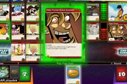 Daily iPad App: Penny Arcade The Game: Gamers vs. Evil is simple but excellent deck-building action