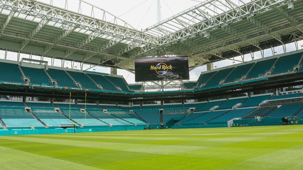 Nem Bernabéu nem Camp Nou, o próximo Clásico será no estádio dos Dolphins