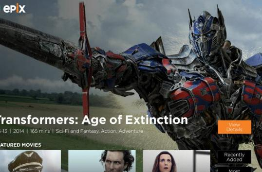 Xbox One snags Epix streaming app