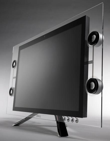 Dell announces Crystal transparent monitor a little early