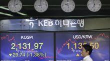 Chinese market drop leads world stocks lower