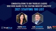 TrueBlue Leaders Named to Staffing Industry Analysts' Staffing 100 List